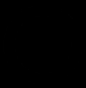 coiled-bw-circle